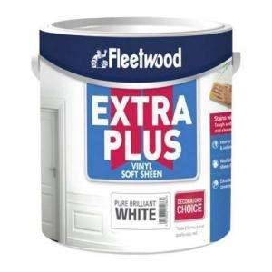 Fleetwood Extra Plus Pure Brilliant White Soft Sheen 5L