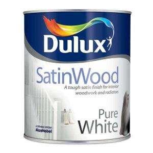 Dulux Satinwood Pure Brilliant White 1 L