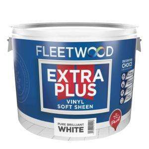 Fleetwood Extra Plus Pure Brilliant White Soft Sheen 10L