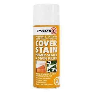 Zinsser Cover Stain Aerosal 400ml
